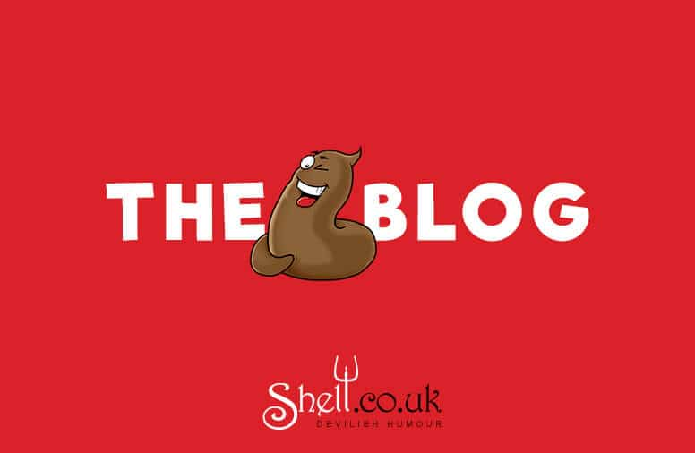 The Shit Blog Banner