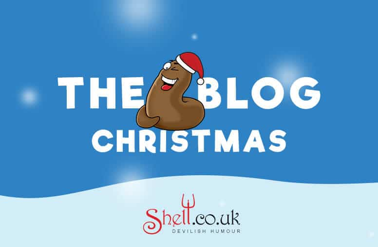 The Shit Blog at Christmas by Shelt Cards